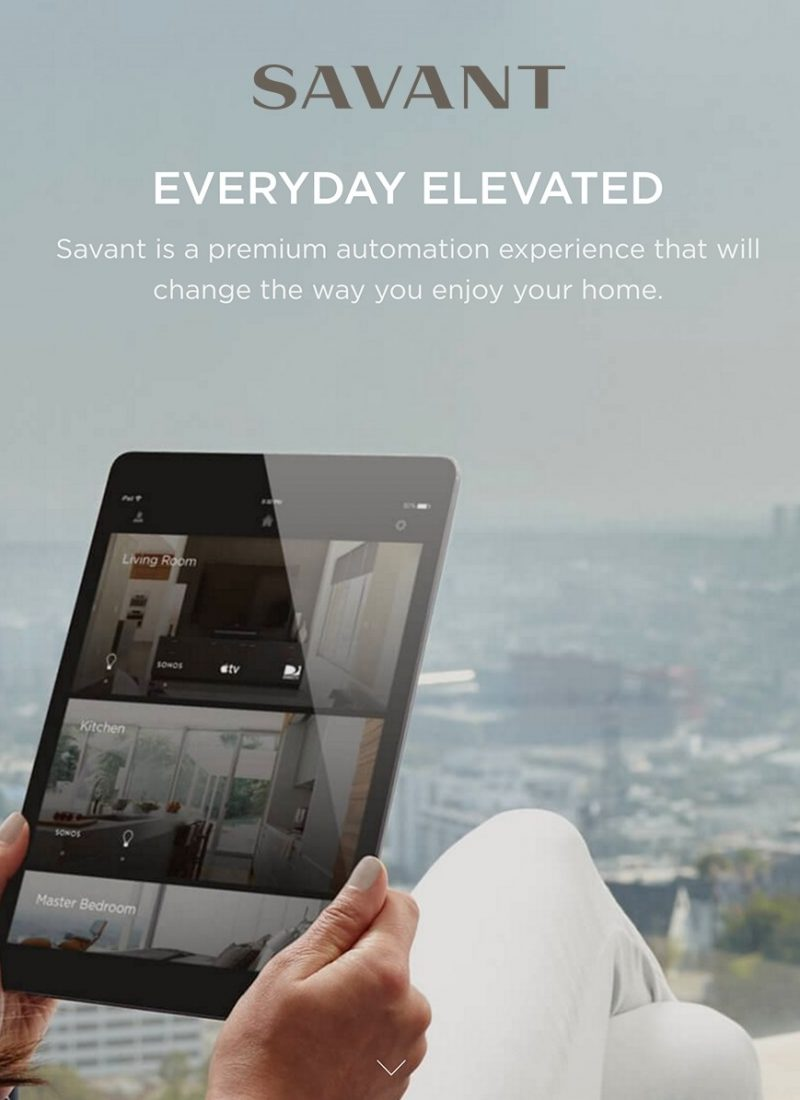 Savant Home Automation Installer NYC